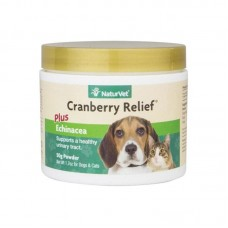 NaturVet Cranberry Relief Echinacea Powder For Dogs & Cats 50g