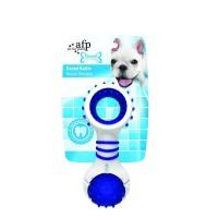 AFP Dental Chew Dental Rattle Dog Toys Blue
