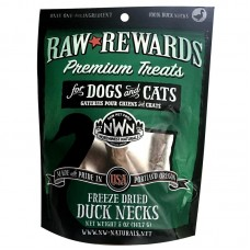 Northwest Natural Freeze Dried Duck Necks Treats For Dogs & Cats 141.7g