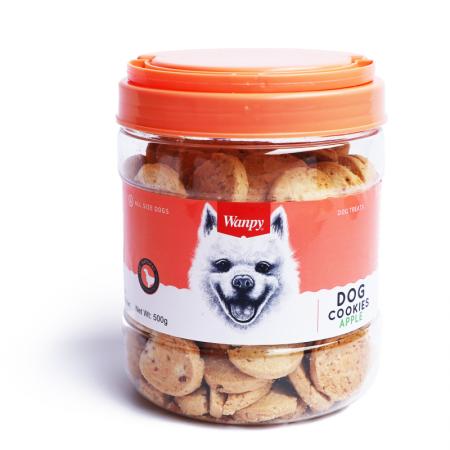 Wanpy Apple Cookies Dog Treat 500g