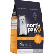 North Paw Grain Free Adult Lamb and Sweet Potato Dog Dry Food 11.4kg