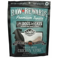 Northwest Natural Freeze Dried Chicken Necks Treats For Dogs & Cats 133g