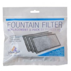 Pioneer Pet Fountain Filters Replacement 3-Pack
