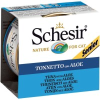 Schesir Jelly Senior Tuna Aloe 85g