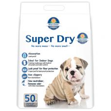 Super Dry SAP 7g Ultra Absorbent Pee Sheets 40x50cm 50's