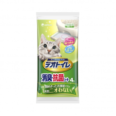 Unicharm Absorbent Pads Refill for Cat Litter Box (4pcs/pack)