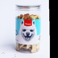 Wanpy Dog Bone Cookies Dog Treat 480g