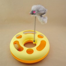Pet Wheel Toy With Mouse