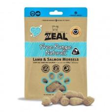 Zeal Free Range Naturals Lamb & Salmon Morsels Dogs & Cats Treats 100g (3 Packs)