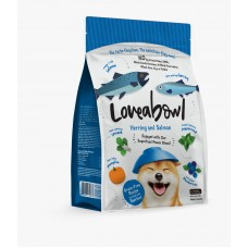 Loveabowl Grain Free Herring and Salmon Dog Dry Food 1.4kg