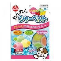 Marukan Fruits Mix Sherbet  Dog Treats 9pcs x 16g