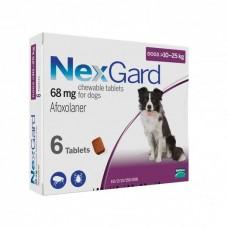 Nexgard Afoxolaner Chewable Tablets for Large Dogs 10kg-25kg 6 tablets