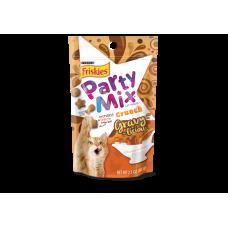 Friskies Party Mix Crunch Gravy-Licious Chicken & Gravy 60g