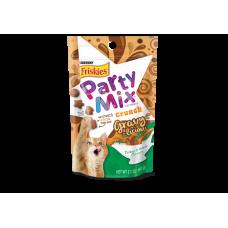 Friskies Party Mix Crunch Gravy-Licious Turkey & Gravy 60G