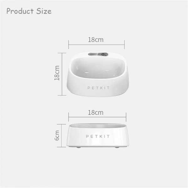 PetKit Smart Antibacterial Bowl with Weighing Function
