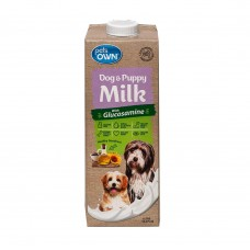 Pets Own Dog & Puppy Milk With Glucosamine 1Litre