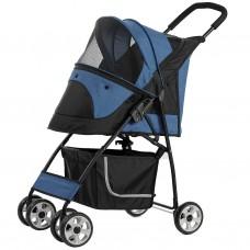 Pettyman Pet Stroller (869) Blue