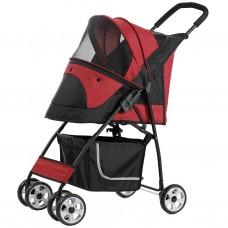 Pettyman Pet Stroller (869) Red