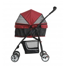 Pettyman Pet Stroller (870i) Red