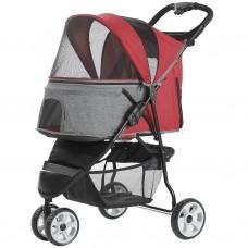 Pettyman Pet Stroller (818) Red