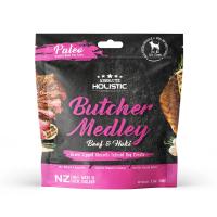 Absolute Holistic Paleo Butcher Medley Beef & Hoki Dog Treats 100g