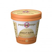 Puppy Scoops Peanut Butter Flavour Ice Cream Mix for Dogs 131.82g