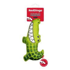 Red Dingo Durables Crocodile Dog Toys