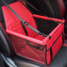 Rubeku Breathable Car Safety Seat Pet Carrier Red
