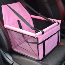 Rubeku Breathable Car Safety Seat Pet Carrier Pink