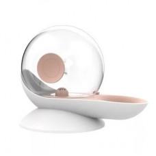Rubeku Automatic Snail-shaped Pet Water Dispenser 2.8L Peach