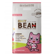 Snappy Bean Green Pea Cat Litter Floral Fresh 7L