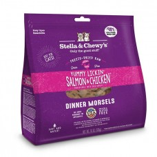 Stella & Chewy's Cat Freeze Dried Dinner Morsels - Yummy Lickin' Salmon & Chicken 18oz