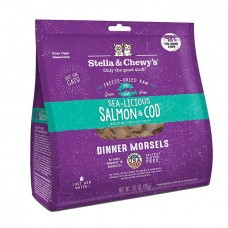Stella & Chewy's Cat Freeze Dried Dinner Morsels - Sea-Licious Salmon & Cod 8oz