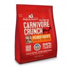 Stella & Chewy's Dog Carnivore Crunch - Beef 3.25oz