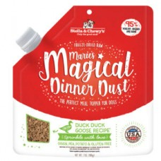 Stella & Chewy's Freeze Dried Raw Marie's Magical Dinner Dust Cage Free Duck Dog Food 7oz