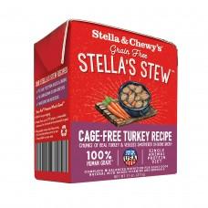 Stella & Chewy's Dog Stella's Stew Cage-Free Turkey Recipe Dog Food 11oz