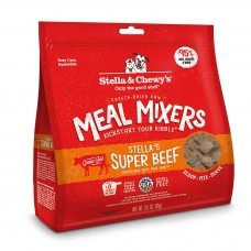 Stella & Chewy's Super Beef Meal Mixer Freeze-Dried Dog Food 18oz
