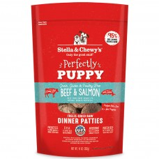 Stella & Chewy's Grain Free Chewy's Perfectly Puppy Beef & Salmon Dinner Patties Freeze-Dried Dog Food 14oz (3 Packs)
