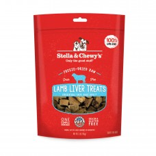 Stella & Chewy's Freeze Dried Raw Lamb Liver Dog Treats 3oz (2 Packs)