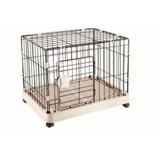 Topsy Anti-Slip Pet Cage With Wheels Large