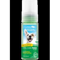 TropiClean Fresh Breath Mint Foam For Dogs 133ml