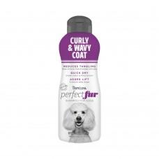 Tropiclean PerfectFur Curly & Wavy Coat Shampoo For Dogs 16oz