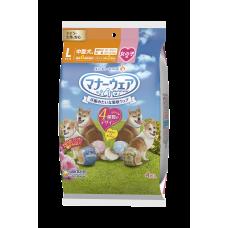 Unicharm Absorbent Pet Diaper Trial Pack Female Large 40cm-55cm Waist (4pc) for Dogs