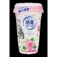 Unicharm Deodorising Beads for Cat Litter Floral 450ml