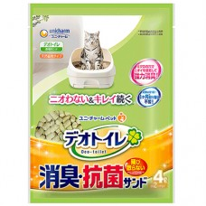 Unicharm Zeolite Pellets Refill Litter for Cat 4L