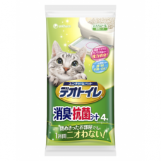 Unicharm Deo-Toilet Dual Layer Cat Litter System Refill (4pcs/pack)