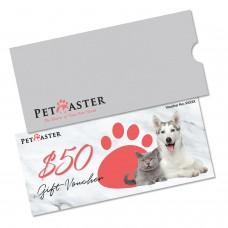 Pet Master Gift Voucher