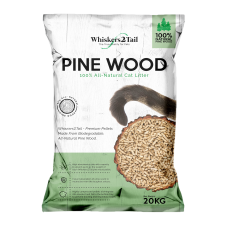 Whiskers2Tail Pine Wood Litter 20kg