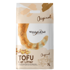 Whiskers2Tail Tofu Cat Litter Original 7L