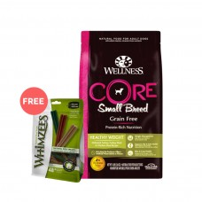Wellness Core Grain Free Small Breed (Healthy Weight) Dog Dry Food 12Lb